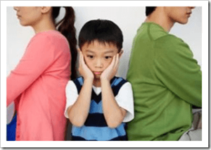 Children coping with divorce