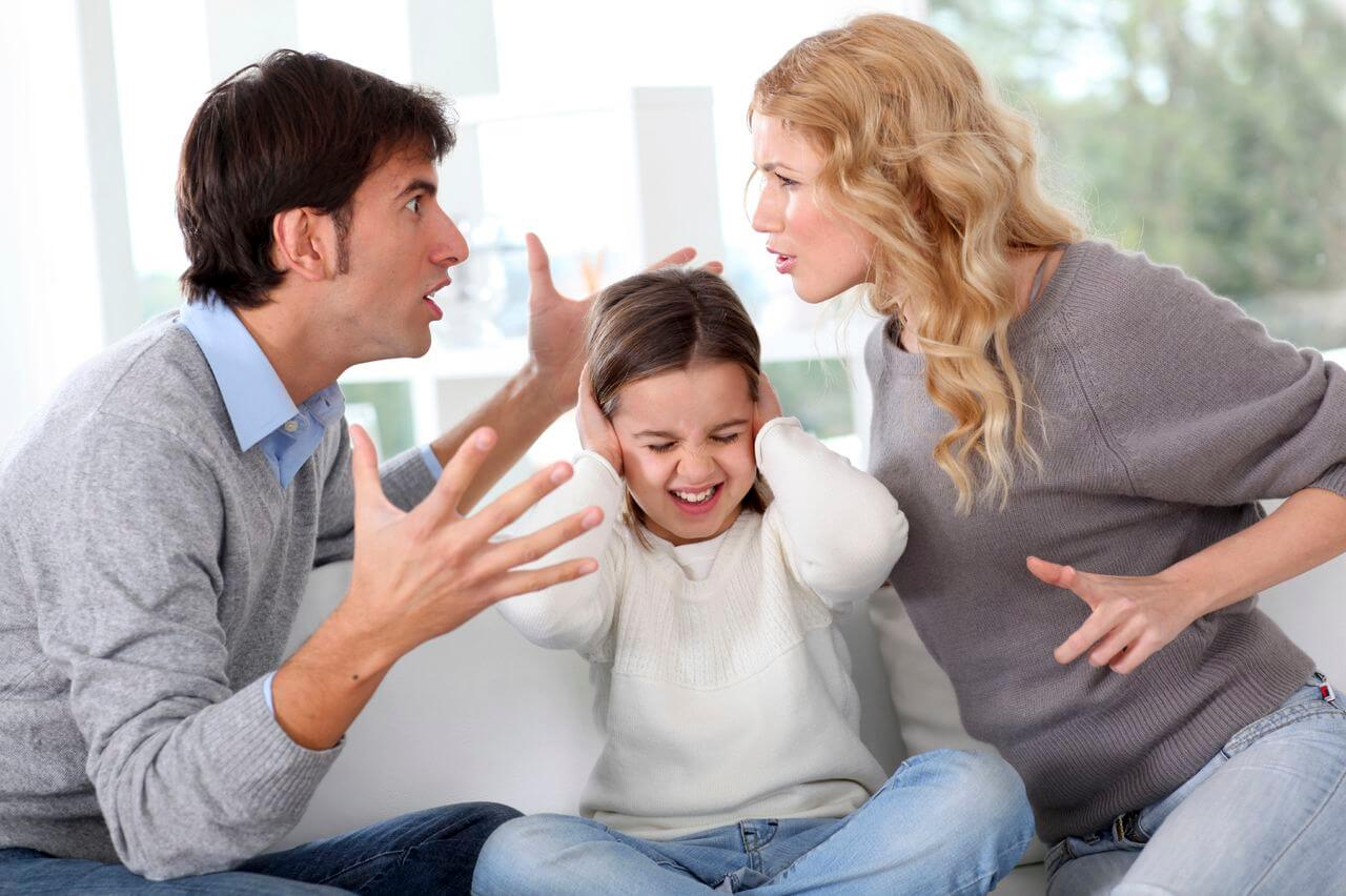 Parents impact on kids when divorcing